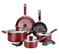 14-Piece Rio Red Excite Cookware Set (bff)