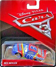 Disney Pixar Cars 3 Rex Revler Gask Its # 80 Mattel Diecast 1:55 Scale New 2017