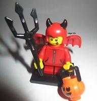 Légo 71013 Minifig Figurine Série 16 Imp Diable + socle + fiche
