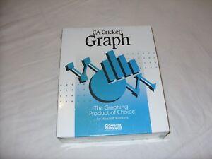 CA Cricket Graph version 1.3.1 PC Windows DOS retro presentation graphics 1991