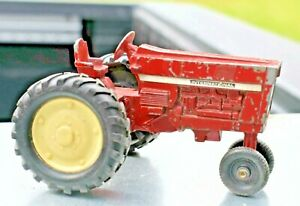 Vintage ERTL Tractor Diecast Toy Red International Farming Tractor Pressed Metal