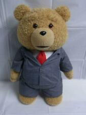 """Large Ted Talking Bear in Office Suit Plush Toy 22"""" Commonwealth"""