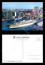 """Lloyd Triestino - nave """"Guglielmo Marconi"""" - nuova - formato grande"""