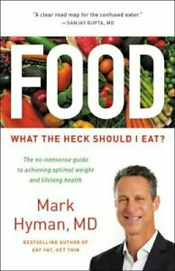 Food: What the Heck Should I Eat? by MD Hyman, Mark, Dr.: Used