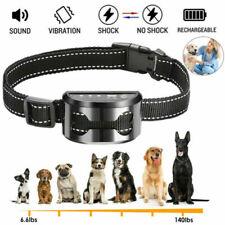 More details for uk anti bark dog collar rechargeable stop barking pet waterproof training collar