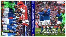 Portsmouth v Sunderland - EFL Trophy Final 31-03-19 - Full Match DVD / Blu-Ray