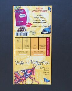 2003 Stamp Collecting Month Bugs Butterflies Philatelic Barcode Booklet SG SB165