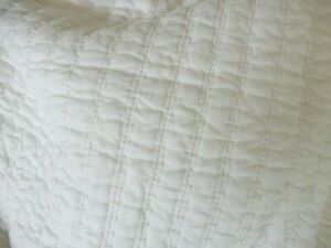 HEARTH AND HAND MAGNOLIA TEXTURED STRIPE KING QUILT NEW NWT FARMHOUSE CHIC