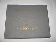 USS Tarawa CVA-40 Jan - Jul 1953 Mediterranean Deployment Navy Cruise Book