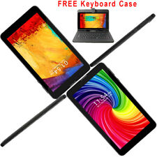 """7"""" Android 9.0 QuadCore Tablet PC GSM SmartPhone Unlocked! ~Bundle Keyboard Case"""