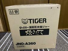 Tiger Commercial Rice Cooker Amp Warmer Jno A360 Xs Silver 36l 1410w Ac100v