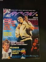 Tiger Beat Rock Magazine April 1985 Michael Jackson Duran Duran Iron Maiden
