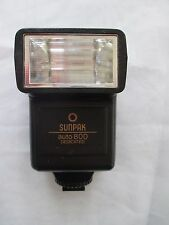 SUNPAK AUTO 800 DEDICATED FLASH - GREAT CONDITION - TESTED - For CANON - 2596A