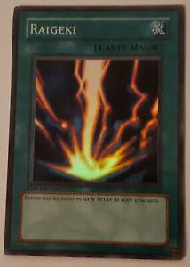 Carte Yu Gi Oh! Raigeki : LDD-C053 - 1ère édition - VF - Super Rare - Foil
