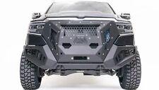 FabFours Blk Powder Coat Grumper Truck Bumper for 2019 Dodge/Ram 1500 | GR4200-1
