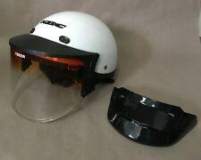 KBC Half Helmet with SEER Vari-Shield and Visor Size Small DOT