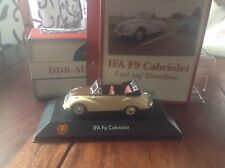 IFA F9 Cabriolet Fahrzeuge DDR  Auto 🚗 Atlas Verlag neu OVP 1:43