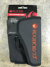 New Ruger 10/22 Buttstock Pouch 27222 - Holds 10-round Magazines and Ammo