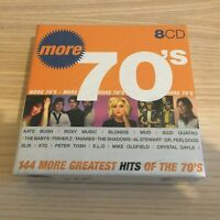 Vari _ More 70's (144 More Greatest Hits Of The 70's) _ 8 X CD Album _ SEALED!