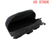 Tactical MOLLE Glasses Box Shockproof EDC Pouch Portable Multipurpose Pouch