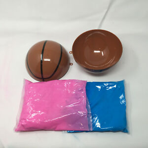 Gender Reveal Basketball - Pink and Blue Kit - great quality