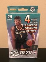 NEW 2019-20 Panini Mosaic Basketball Hanger Box ZION WILLIAMSON JA MORANT