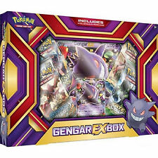 Pokemon XY Gengar EX Collection Box: Booster Packs + Promo Cards