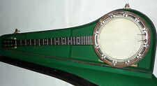 VINTAGE 5 String Windsor Model 8 BANJO CON BELLE BLACKWOOD caso