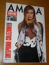 AMICA 1988/8=ANTEPRIMA PASSERELLA PRIMAVERA ESTATE=PRET A PORTER 1988/89 MODA=
