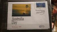1997 AUSTRALIAN ALPHA STAMP ISSUE FDC, AUSTRALIA DAY ISSUE 2