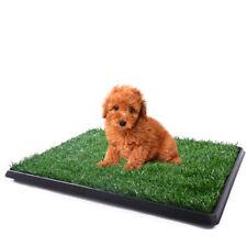"Puppy Pet Potty Training Pee 25""x20""  Indoor Toilet Dog Grass Pad Mat Turf"