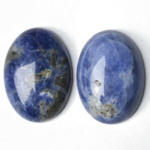 Sodalite Cabochon Blue Oval Calibrated 18x25mm Pack Of 1