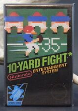 10-Yard Fight Nintendo Game Box - Fridge Magnet. Football NES