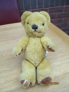 Merrythought Ironbridge Shrops Jointed Teddy Bear -  Reg No. PA 169