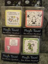 4 X *Sheepworld * Magic Towel - Zauberhandtuch* Neu & OVP - siehe Photos
