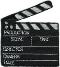 "2"" x 2"" Movie Set Film Clapboard Patch"
