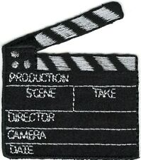 "2"" x 2"" Movie Set Film Clapboard Patch"