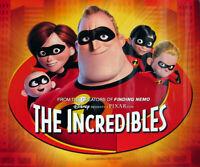 Die Incredibles (Einzel Seiten) Glänzend Mini Plakat) Original Filmposter