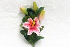 Lily Flower Fridge Magnet 3D Resin Memo Holder Souvenir Gift Refrigerator