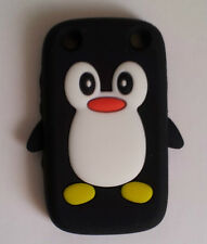 PENGUIN SILICONE SKIN CASE COVER BLACKBERRY CURVE 9320  ** + SCREEN PROTECTOR**
