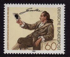 W Germany 1982 Von Goethe SG 1985 MNH
