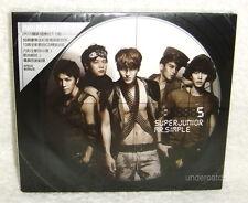 Korea Super Junior Mr. Simple Taiwan CD+ 50P booklet+ Card Type B 「Superman」