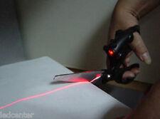 1 paire Ciseaux à guidage laser pour coupe droite de tissus papiers Vu à la TV
