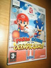 Brand New And Sealed Wii ** Mario and Sonic Olympic Games -  PAL - NINTENDO