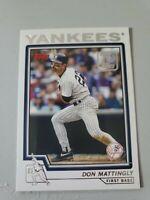 2021 Topps Series 1 Topps 70 Years of Baseball Don Mattingly #70YT-54 Insert