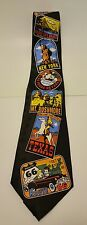TIES IN DISGUISE,  BLACK YELLOW AMERICA ATTRACTION PLACE Tie