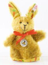 "Steiff 420276Cosy Buny Rabbit Puppet 2002 Club Edition w/ Tag & Button 4.75"""
