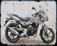 Bajaj Pulsar 180 05 03 A4 Metal Sign moto antigua añejada De