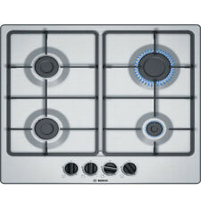 BOSCH PGP6B5B60 Built-in Stainless Steel Kitchen Gas Hob!!!