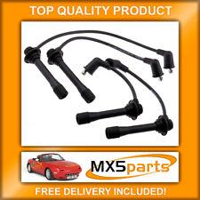 MX5 Spark Plug HT Ignition Lead Set 7mm Mazda MX-5 Mk1 & Mk2 1.6 1.8 1989>2005
